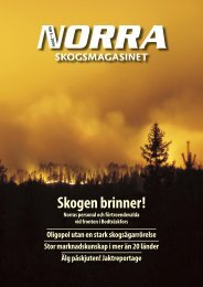 Skogen brinner! - Norra Skogsägarna