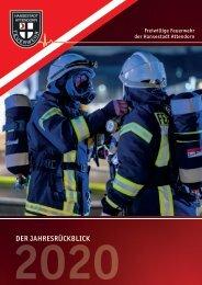 Feuerwehr Attendorn – Jahresrückblick 2020