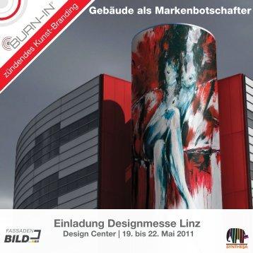 Einladung Designmesse Linz