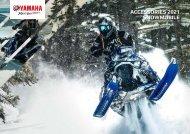 2021 Zubehör Katalog für Yamaha Schneemobile