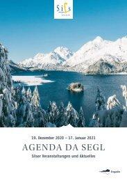 Agenda da Segl Nr. 2 Winter 2020/21