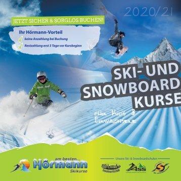 SKI- UND SNOWBOARDKURSE MIT HÖRMANN REISEN