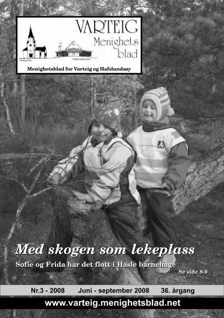 Med skogen som lekeplass Med skogen som lekeplass