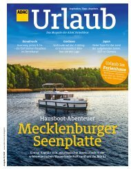 ADAC Urlaub Januar-Ausgabe 2021 Württemberg