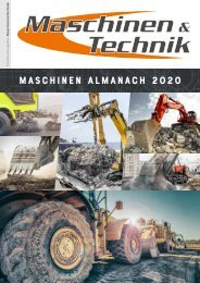 MASCHINEN ALMANACH 2020