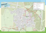 Mildenhall Cycle Map