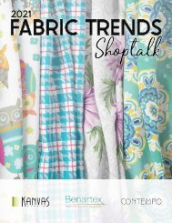 2021 Fabric Trends Shoptalk - January Edition