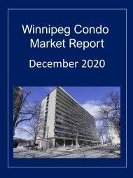Winnipeg Condo Market Report for December 2020