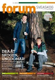 dra åt skogen, ungdomar! - Sveaskog