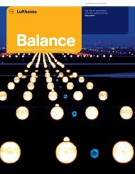 Sustainability report Balance 2011 - Verantwortung in der Lufthansa