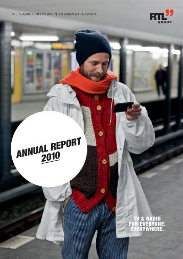 ANNU ANNUAL REPORT 2010 - RTL Group