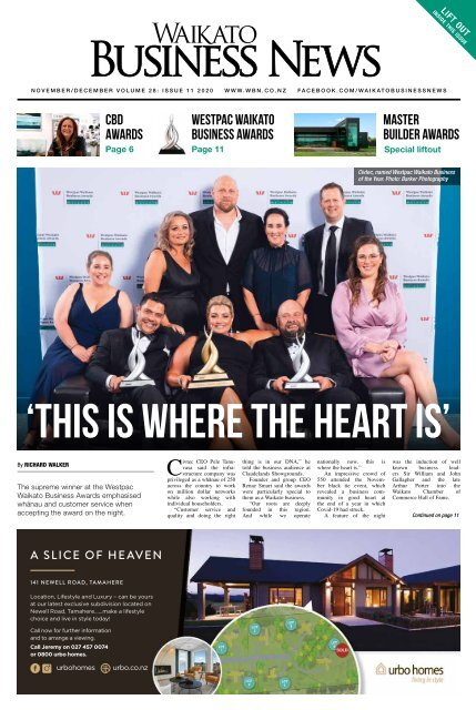 Waikato Business News November/December 2020