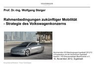 Ing. Wolfgang Steiger - Volkswagen AutoUni