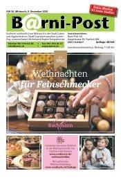 Barni-Post, KW 50, 9. Dezember 2020