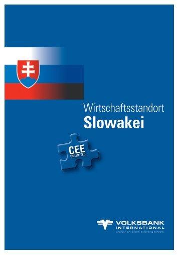 Wirtschaftsstandort Slowakei