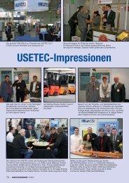 USETEC-Impressionen