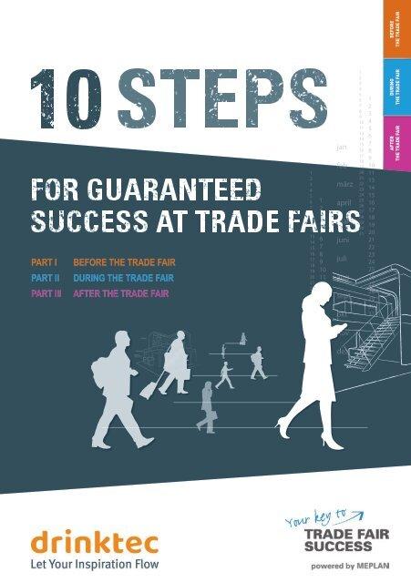 drinktec 2021 // 10 Steps for guaranteed success at trade fairs