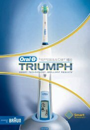 Braun-OralB_ProfessionalCare9500 - Download Instructions Manuals
