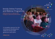 Spring Term 2021 Training Programme