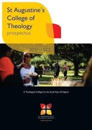 St Augustines Prospectus 2021-2022
