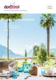 Gastgeberverzeichnis Dorf Tirol 2021