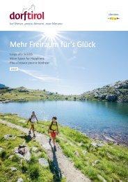 Imagekatalog Dorf Tirol 2021