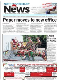 North Canterbury News: December 10, 2020