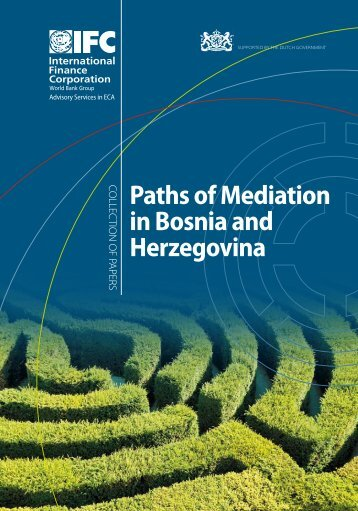 Paths of Mediation in Bosnia and Herzegovina - Investment Climate
