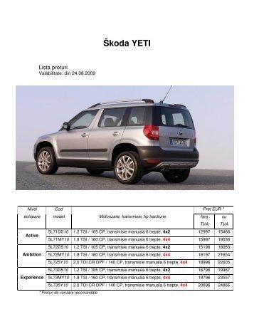 Škoda YETI - Auto Drive Center