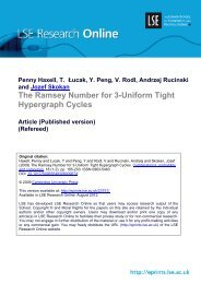 The Ramsey Number for 3-Uniform Tight Hypergraph Cycles Article