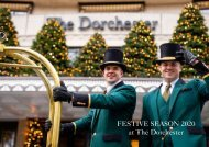 The Dorchester Festive Booklet December 2020