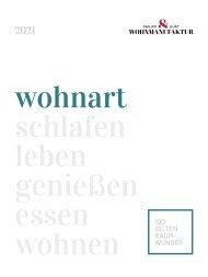 wohnart Buch 2021 Wohnmanufaktur