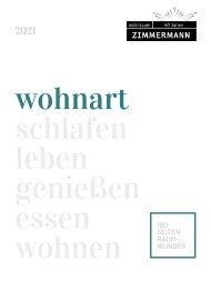 wohnart Buch 2021 Zimmermann