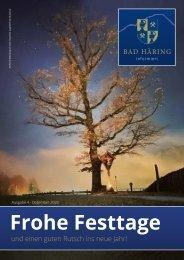 Bad Häring informiert 04/2020