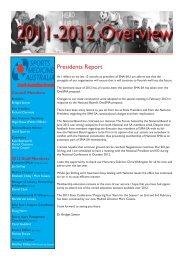 2011/2012 Annual Report - Sports Medicine Australia