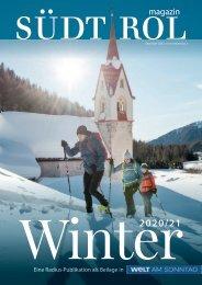 Südtirol Magazin Winter 2020/21 - WamS