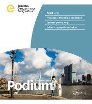 Erasmus Centrum voor Zorgbestuur - Podium december 2020