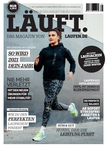 LÄUFT. Winter 2021 – Leseprobe