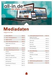 Mediadaten all-in.de 2020
