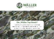 Broschüre Wäller Top Hotels