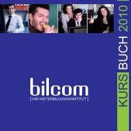 KURS BUCH 2010 - bilcom.at