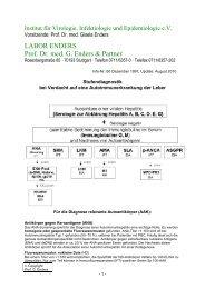 LABOR ENDERS Prof. Dr. med. G. Enders & Partner