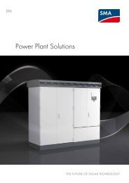 Power Plant Solutions - Sunny Family 2011/2012