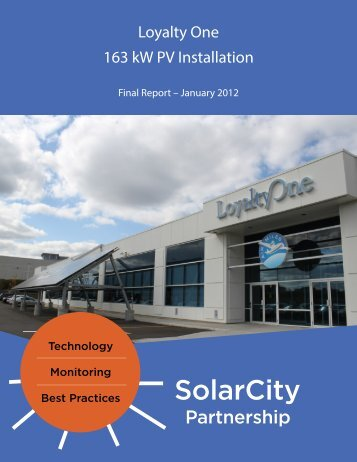 Final Report - Solar City Partnership