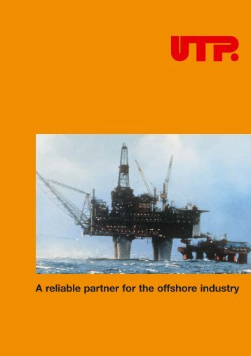 A reliable partner for the offshore industry