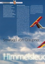 Datenblatt Segelflug - Graupner