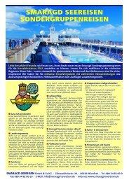 highlights - Kreuzfahrten von Smaragd Seereisen