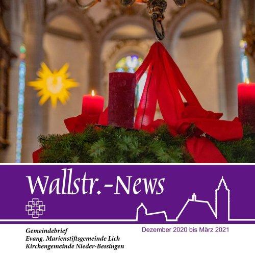 Wallstr. News 2021 1