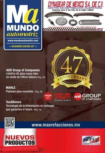 Mundo Automotriz La Revista ....no. 297 diciembre 2020