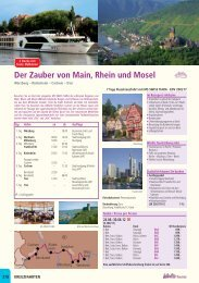 Der Zauber von Main, Rhein und Mosel - Travelcms.de